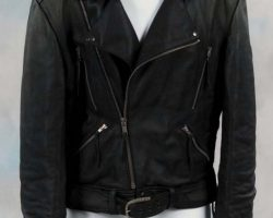 Nicholas Cage leather jacket from Ghostrider