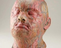 John Chambers screen-used mutant mask from Beneath the Planet of the Apes