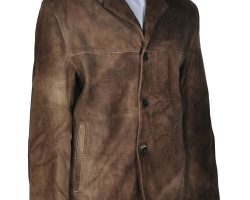 Alexis Denisof screen-worn leather jacket from Angel