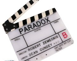 """Paradox"" clapperboard from Back to the Future II"