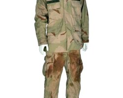 """Eversmann"" U.S. Army camouflage costume from Black Hawk Down"