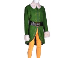 "Complete Will Farrell hero ""Buddy"" elf costume from Elf"