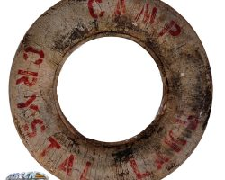 Camp Crystal Lake life preserver from Friday the 13th