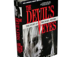 """Malcolm McDowell """"Dr. Samuel Loomis"""" book from Halloween"""