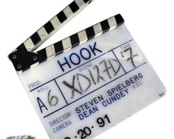 Original production clapperboard from Hook