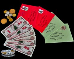 Whobilation money & mail from How the Grinch Stole Christmas