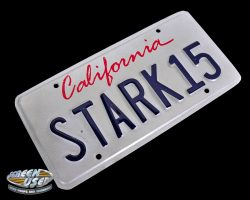 """STARK15"" license plate from Iron Man 2"