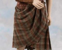 Mel Gibson complete battle costume from Braveheart