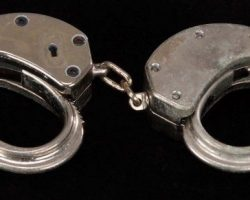 Ian Holm prop handcuffs from The Fifth Element