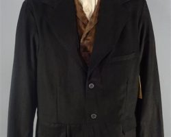 MAGNIFICENT 7 BARTHOLOMEW BOGUE PETER SARSGAARD SCREEN WORN COAT VEST & SHIRT