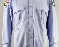 BABY DRIVER ARMORED CAR DRIVER SCREEN WORN DUMMY SHIRT CH 1 SC 25