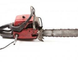 SFX chainsaw from Poltergeist II: The Other Side