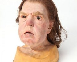Anne Ramsey stunt head from Throw Momma from the Train