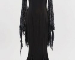 Morticia Addams dress from Addams Family Values