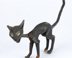Black cat animated puppet – Nightmare Before Christmas