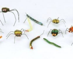 Animated bugs & worms from Nightmare Before Christmas