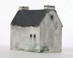 Miniature house from James & the Giant Peach