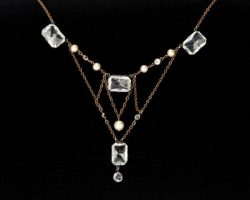 Frances Fisher antique Edwardian necklace from Titanic