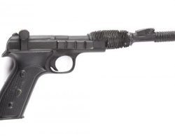 "Carrie Fisher ""Princess Leia"" Blaster from Star Wars: Episode VI – Return of the Jedi."
