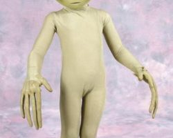 Close Encounters of the Third Kind alien form and costume