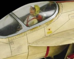 Captain Scarlet – Angel miniature aircraft