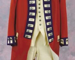 British soldiers uniform from The Patriot