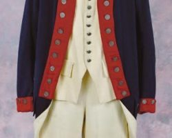 Continental soldier uniform from The Patriot