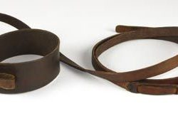Human collar & leash from Planet of the Apes