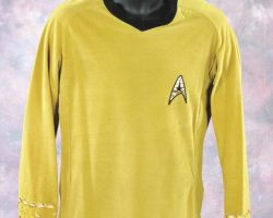 Captain James T. Kirk's  pea green velour jersey tunic