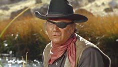 John Wayne eye patch from True Grit and Rooster Cogburn.