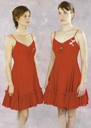 Penny Marshall and Cindy Williams dresses from Laverne & Shirley
