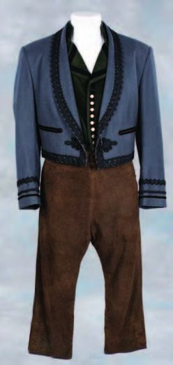 Anthony Hopkins costume worn in The Mask of Zorro