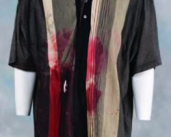 James Gandolfini blood-stained shirt from The Sopranos