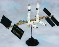 Space Station Luthor model – Lois and Clark Superman TV