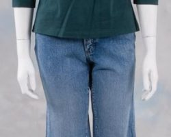 Susan Sarandon jeans & green top from Thelma & Louise