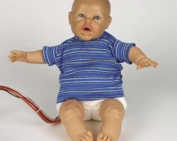Special effects baby doll bomb from The Rock