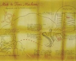 Map to the Time Machine – Back to the Future Part III