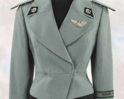 Bridge officers uniform jacket from Starship Troopers