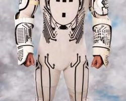 Complete hero costume from Tron