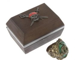 Johnny Depps Dragon Ring for the film Pirates of the Caribbean: Dead Mans Chest