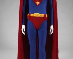 Superman costume worn by Dean Cain