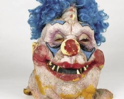 Screen-used mask from Killer Klowns from Outer Space