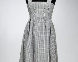 Judy Garlands pinafore dress from The Wizard Of Oz