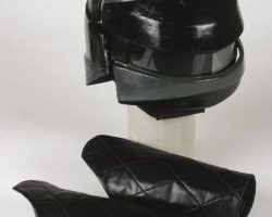 Visitor helmet and gauntlets from V: The Series