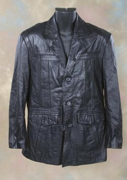 Brandon Lee leather coat from The Crow