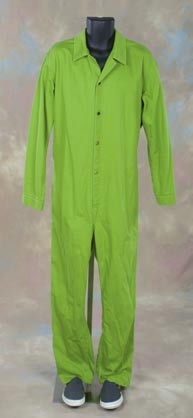 Nicholas Cage jumpsuit and hood from Face/Off