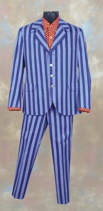 Mike Myers pinstripe suit from Austin Powers