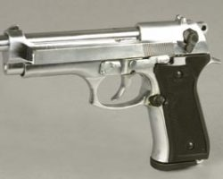 Prop pistol used by the Carjacker in Spider-Man