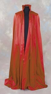 Red satin cape from Eyes Wide Shut