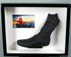 Framed Spider-man Costume Piece Left Boot black